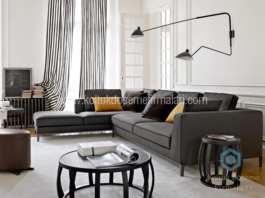 L Köşe Koltuk Modeli eve göre koltuk imalatı