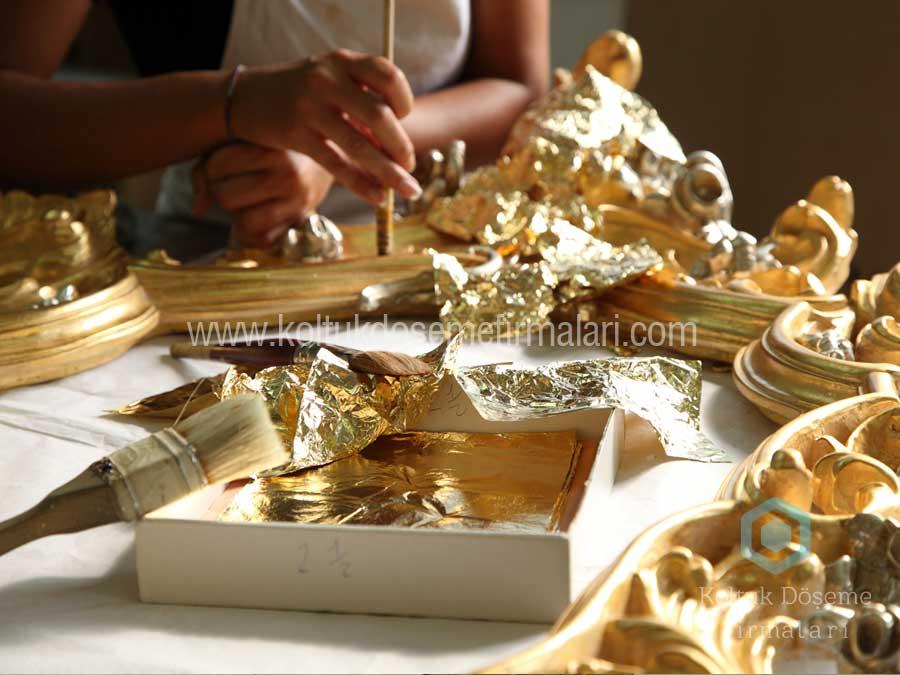 Altın Gümüş Varak Cila Boya
